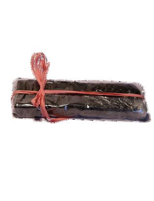 Immagine di Torrone alla castagna ricoperto di cioccolata 300 g