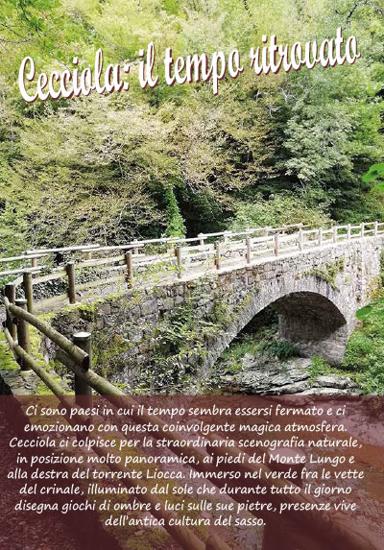 Immagine di Depliant informativo del Borgo di Cecciola