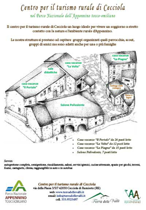Picture of OMAGGIO - Brochure Centro per il Turismo Rurale