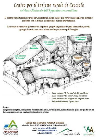 Picture of OMAGGIO - Brochure Centro per il Turismo Rurale