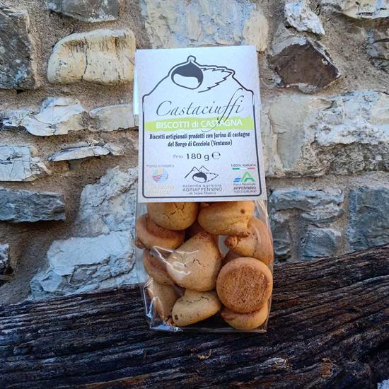 Biscotto castaciuffo alla castagna