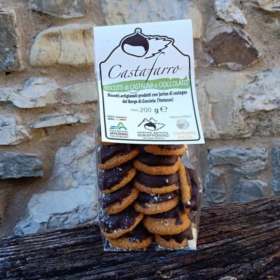 Biscotti alla castagna Castafarro