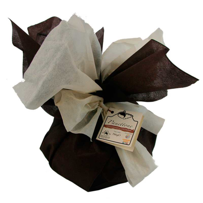 Panettone castagna ricoperto di cioccolata